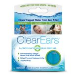 ClearEars Ear Plugs Absorb Water from Ears